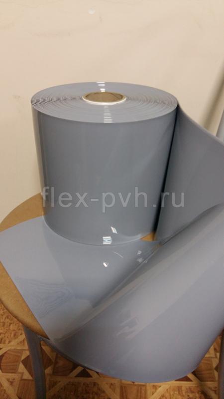 Завеса пвх 2 мм х 200 мм Стандартная непрозрачная СЕРАЯ