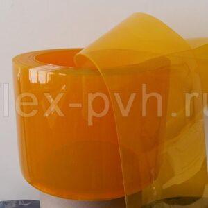 Завеса пвх 2 мм х 200 мм Стандартная полупрозрачная ЖЕЛТАЯ