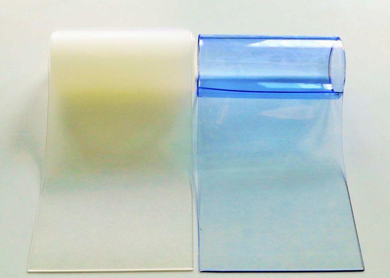 Пленка прозрачная для полосовых завес ПВХ