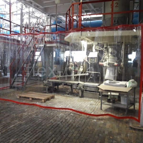 Шторы ПВХ на производстве